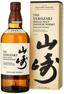 Honorable Mention Yamazaki Distiller's Reserve,