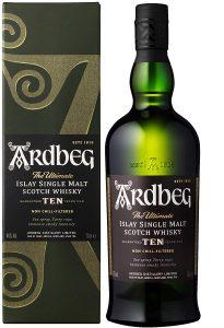 ardbeg ten years old scotch