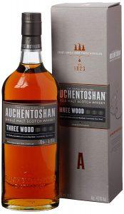 auchentoshan three wood single malt whiskey