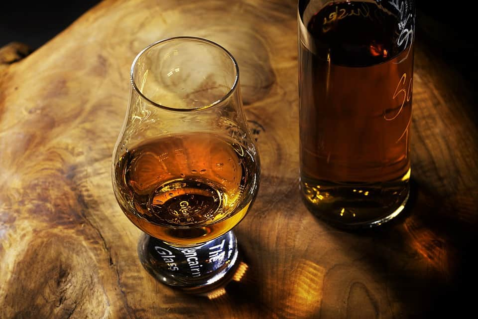 bourbon glass