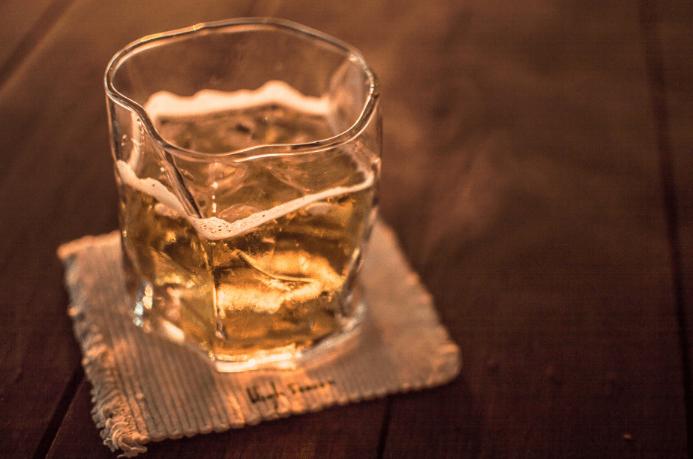 bourbon whiskey glass