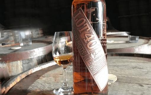 lot no.40 whisky