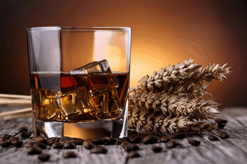 rye whiskey glass