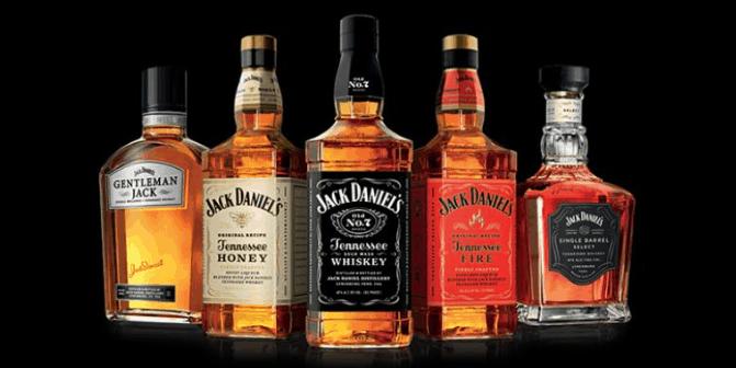 jack daniels all flavors
