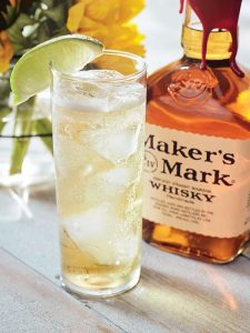 maker's and ginger