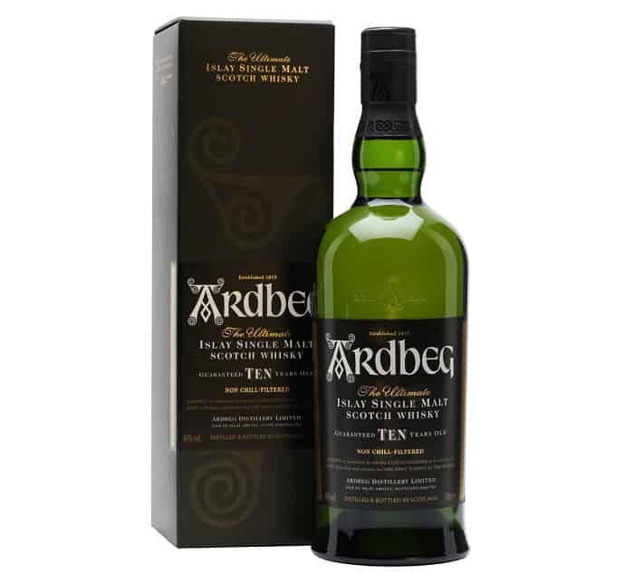 Ardberg 10 Year Scotch