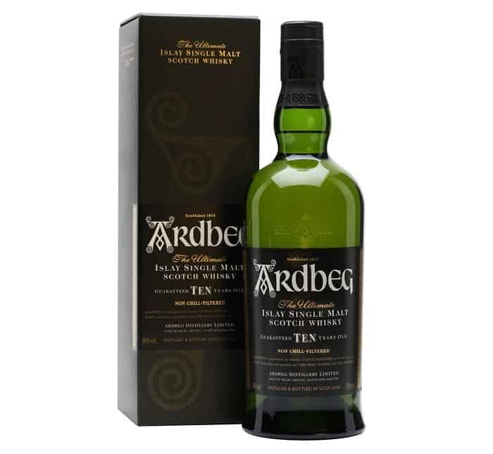 Ardberg 10 Year Scotch