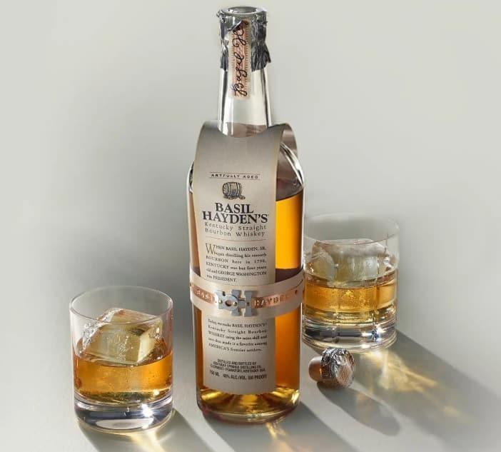 Basil Hayden's Bourbon Sour