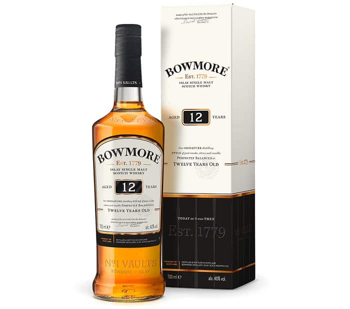 Bowmore 12 Year Islay Single Malt Scotch Whisky