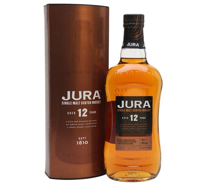 Jura Whiskey 12 Year Old
