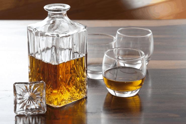 irish bottle of whiskey