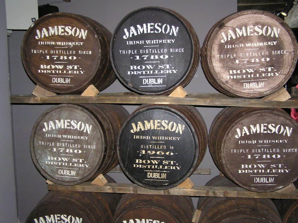 jameson barrels