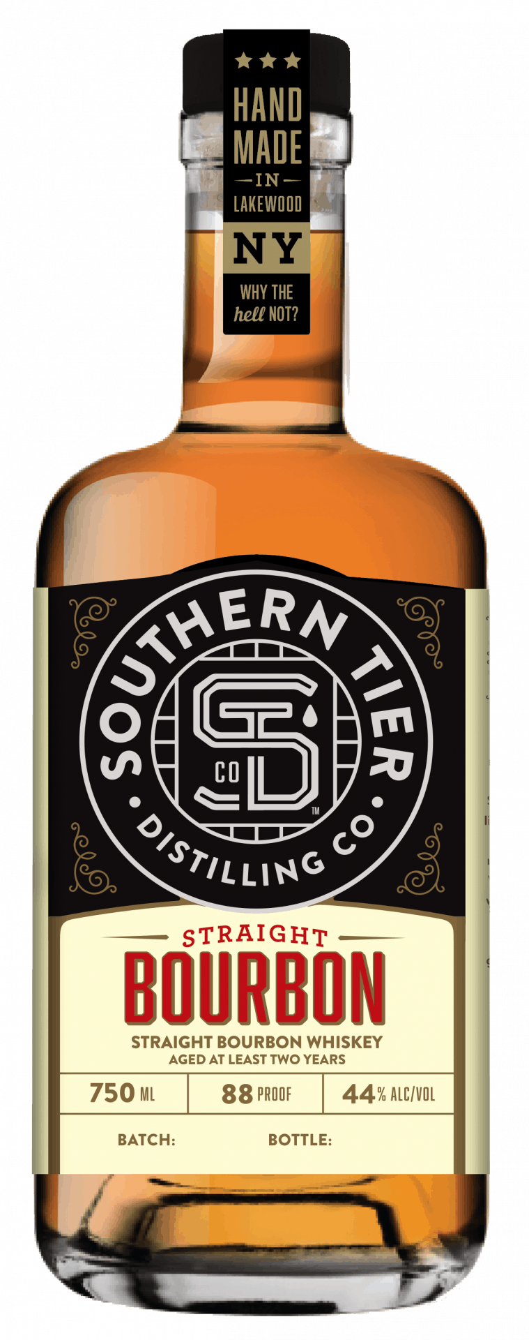 Southern Tier Straight Bourbon Whiskey
