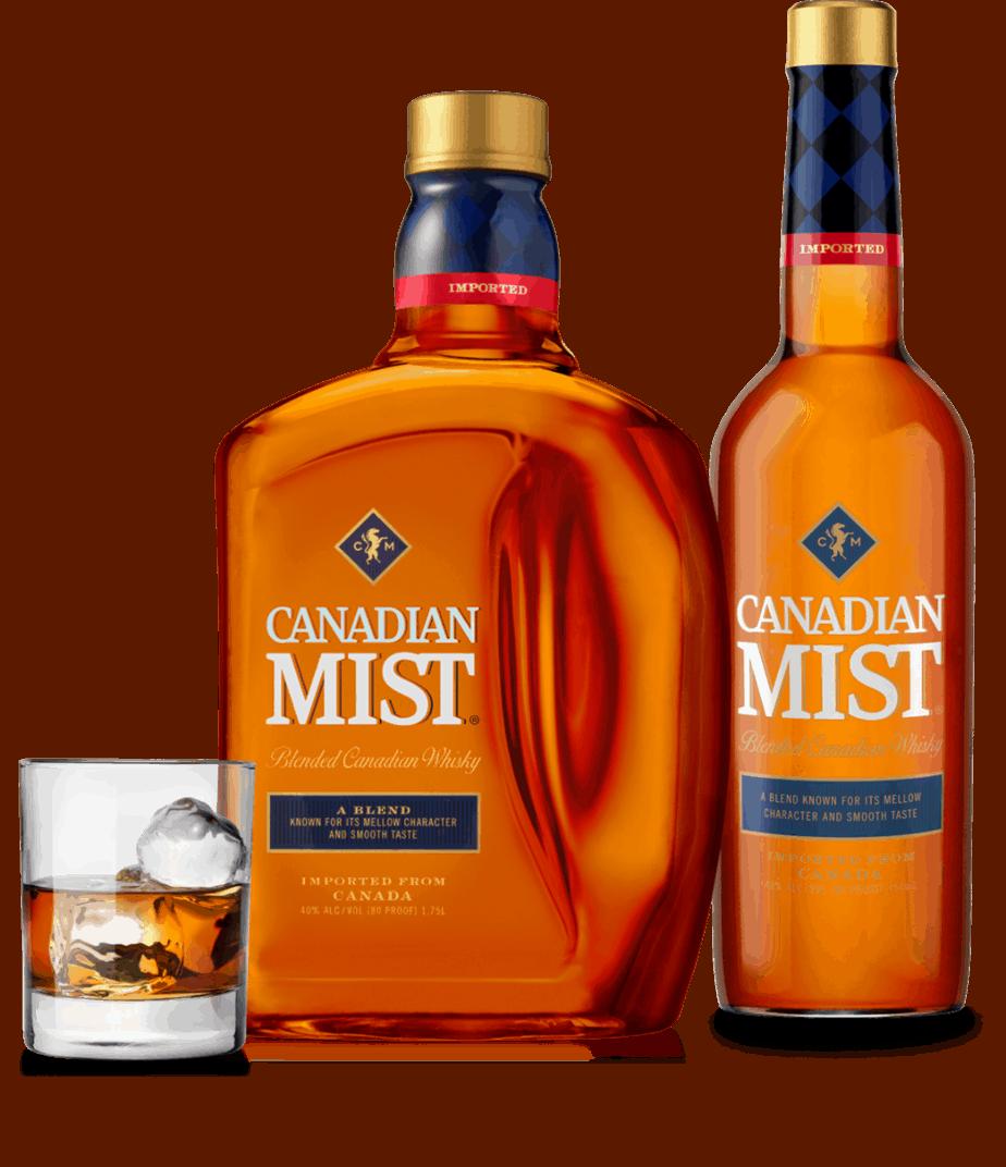 canadian mist bottle