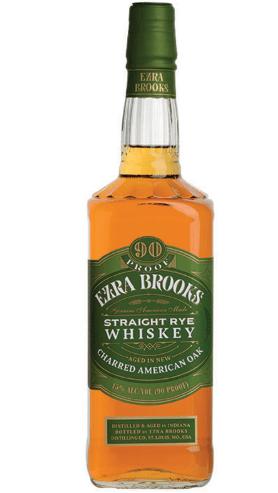 ezra brooks rye whiskey
