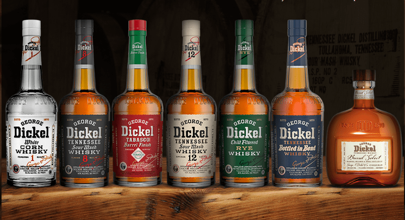 george dickel selections