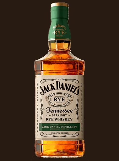 jack daniels rye whiskey