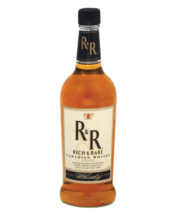 rich and rare canadian whiskey