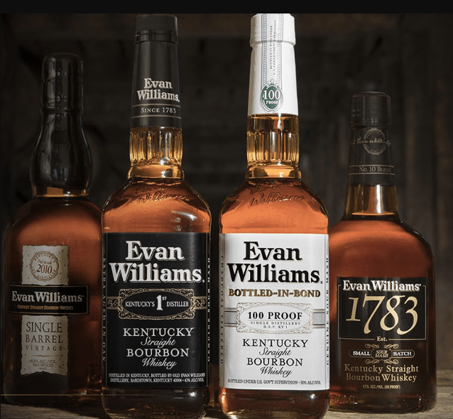 evan williams general flavors