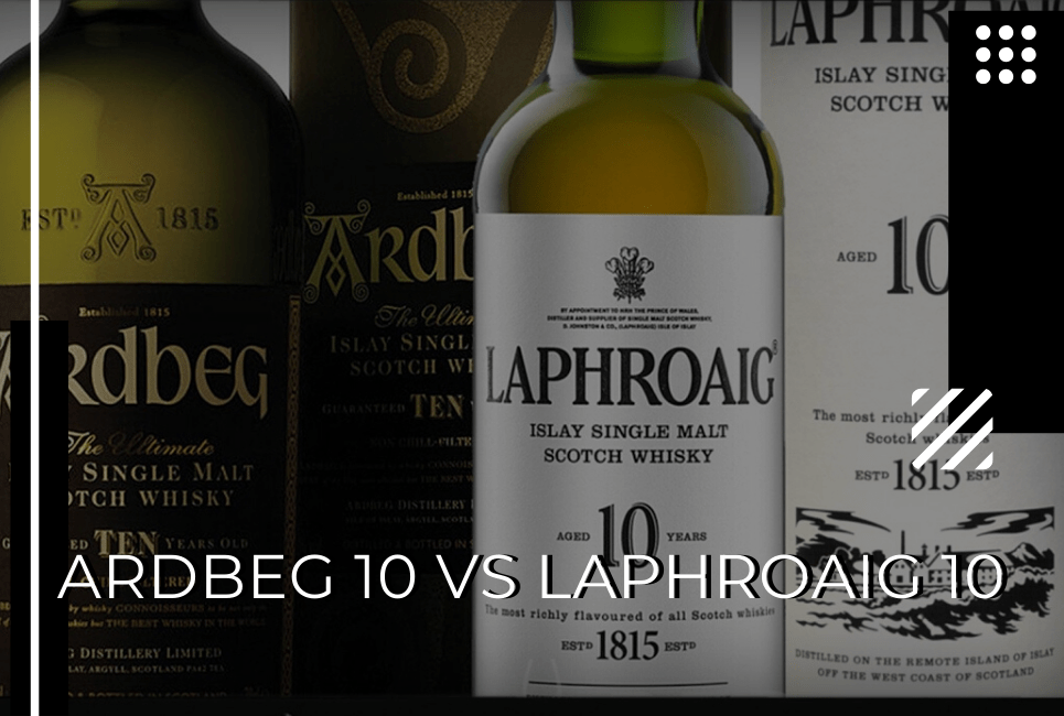 Ardbeg 10 vs Laphroaig 10 – Who Will Take Home the Peat Lover's Crown?