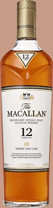 macallan 12 bottle