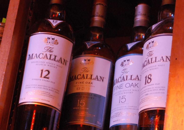 macallan whiskeys in box