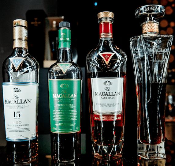 macallan whiskeys