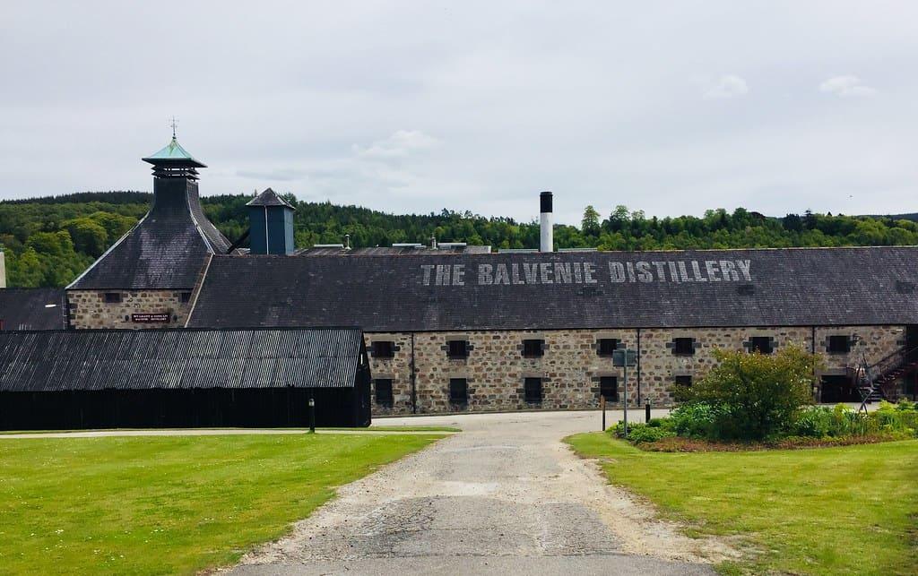 Balvenie Distillery Scotland