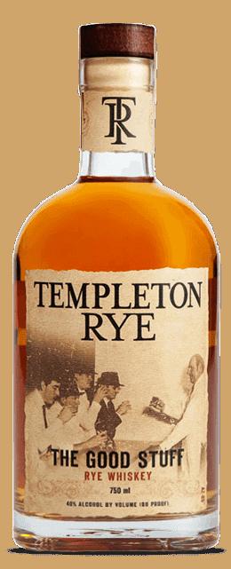 "Image result for templeton Rye ""The Good Stuff"" rye whiskey"