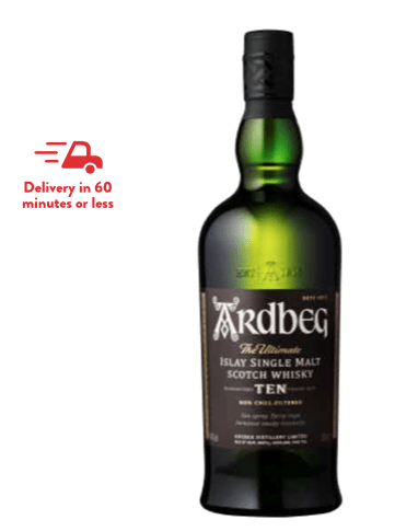Our Favorite Ardbeg 10 Delivered to You!