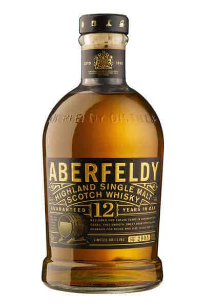 Aberfeldy 12 Year Scotch Whisky | Drizly