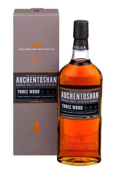 Auchentoshan Three Wood Lowland Single Malt Scotch | Drizly