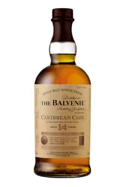 The Balvenie 14 Year Old Caribbean Cask Single Malt Scotch Whisky | Drizly