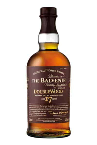 The Balvenie 17 Year Old DoubleWood Whisky | Drizly
