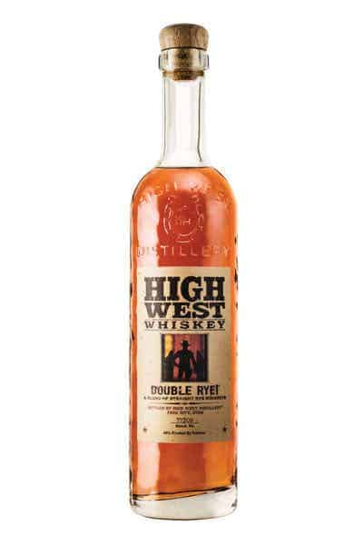 High West Double Rye Whiskey | Drizly