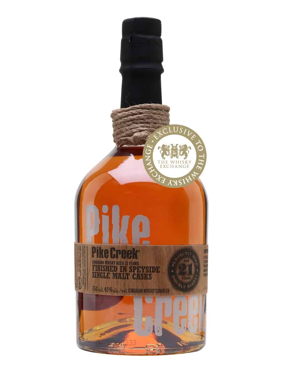 Pike Creek 21 Year Old Speyside Cask Finish | The Whisky Exchange