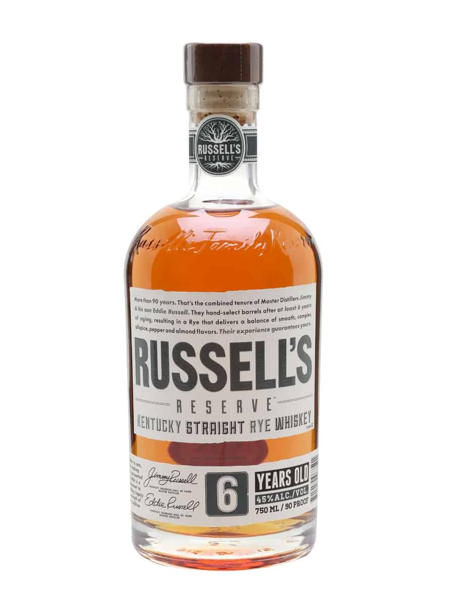 Russell's Reserve 6-Year-Old Rye | The Whisky Exchange