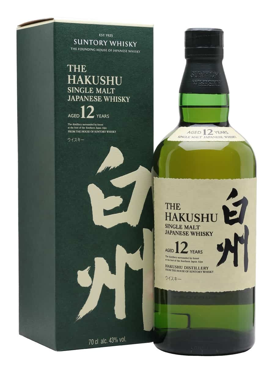 Suntory Hakushu 12 Year Old | The Whisky Exchange