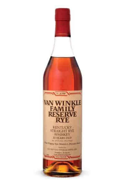 Van Winkle Family Reserve Rye | Drizly