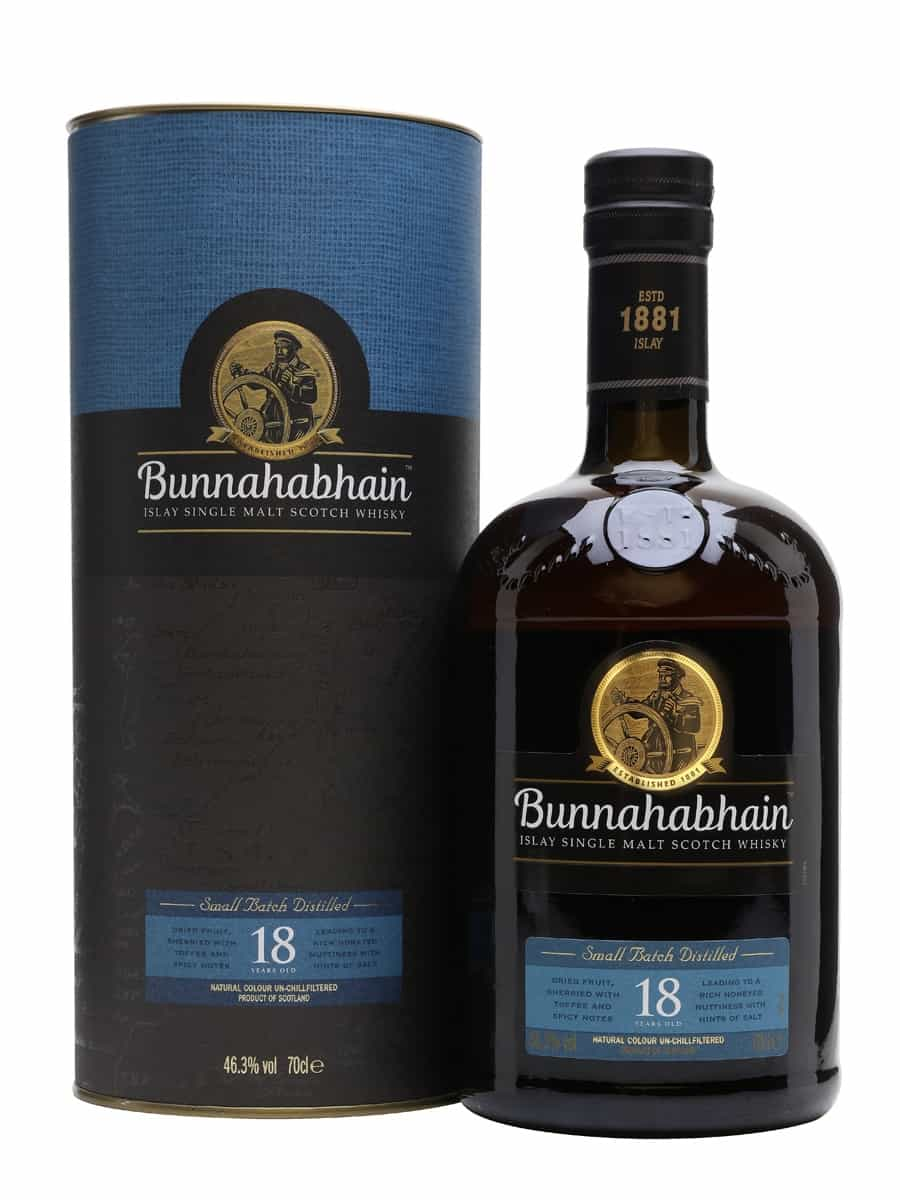 Bunnahabhain 18 Year Old | The Whiskey Exchange