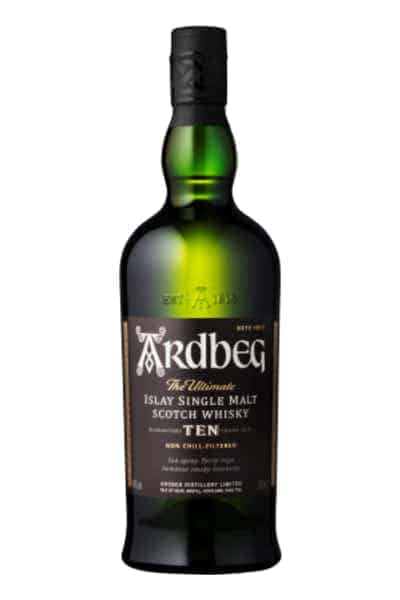 Ardbeg 10 Year Single Malt Scotch Whisky | Drizly