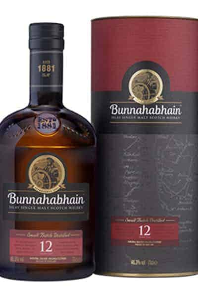 Bunnahabhain 12 Year Single Malt Whisky | Drizly