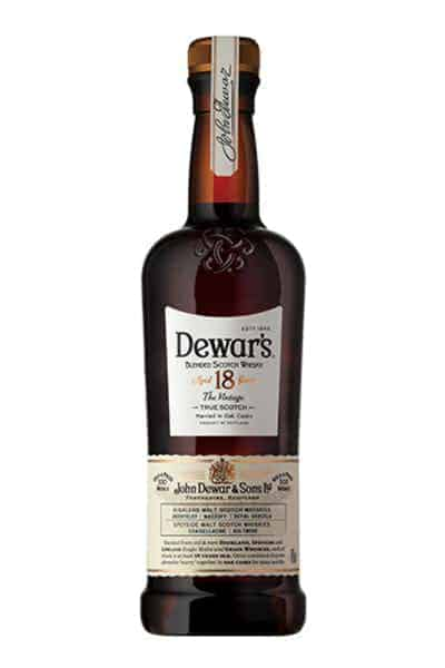 Dewar's 18 Year Blended Scotch Whisky | Drizly