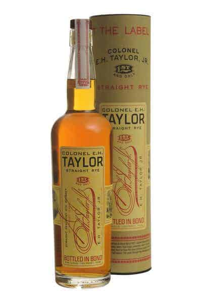 E.H. Taylor, Jr. Straight Rye Whiskey | Drizly