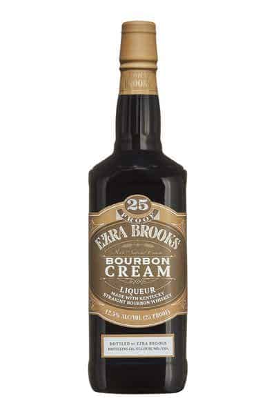 Ezra Brooks Bourbon Cream | Drizly