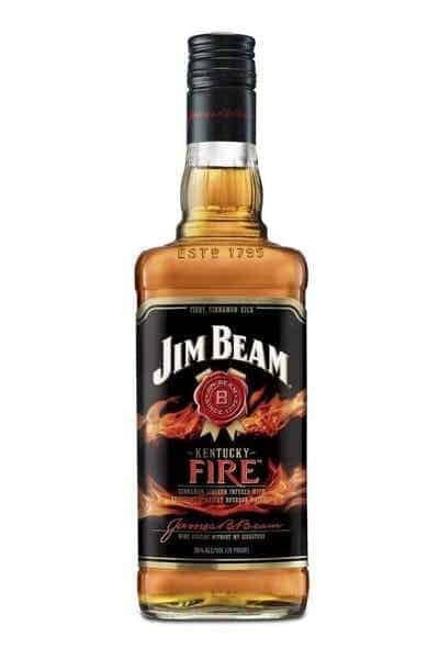 Jim Beam Kentucky Fire Bourbon Whiskey | Drizly