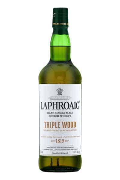 Laphroaig Triple Wood Islay Single Malt Whisky | Drizly