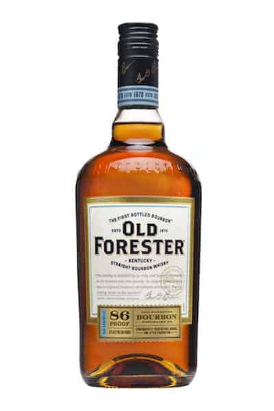 Old Forester 86 Proof Kentucky Straight Bourbon Whisky | Drizly