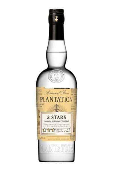 Plantation 3 Stars White Rum   Drizly