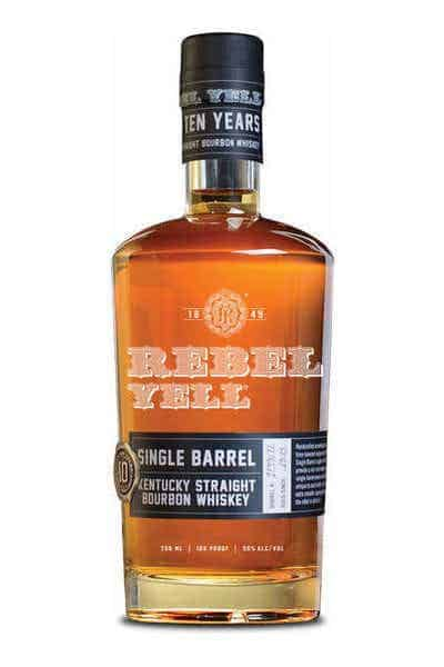 Rebel Yell 10 Year Single Barrel Bourbon | Drizly